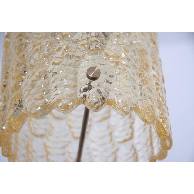Mid-Century Modern Pendant Light by Carl Fagerlund for Orrefors For Sale - Image 3 of 5