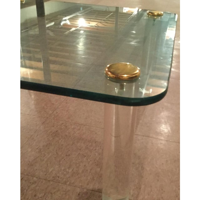 1940s Glass & Gold Table - Image 4 of 7