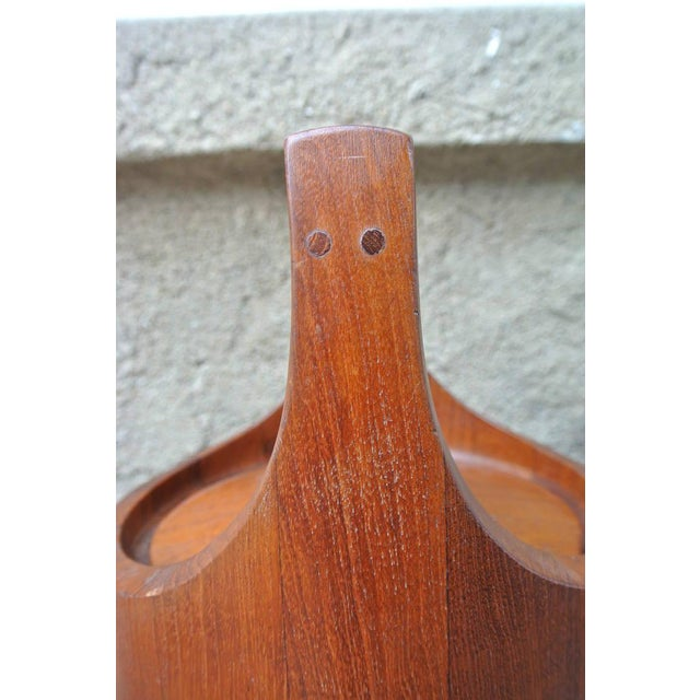 Jens Quistgaard Early Teak Ice Bucket by Jens Quistgaard for Dansk For Sale - Image 4 of 8