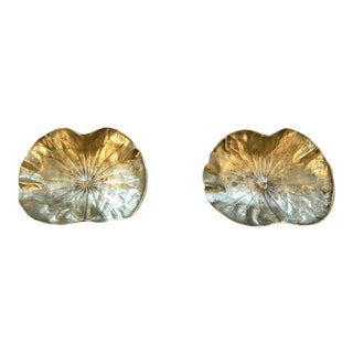 Brass Candy Dishes - a Pair For Sale