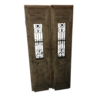 Old Country French Pine Doors & Grills For Sale