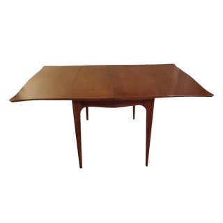 1990s Vintage Drexel Heritage Mid-Century Modern Dining Table For Sale