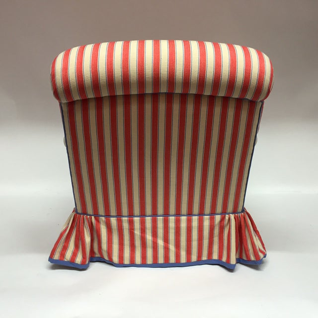Diamond Baratta Striped Lounge Chair - Image 5 of 6