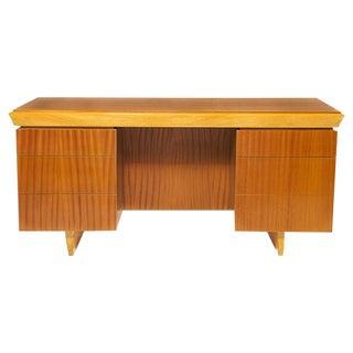 Vintage Paul Laszlo Mahogany Desk For Sale