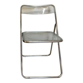 1960s Vintage Pila Style Lucite Folding Chair For Sale