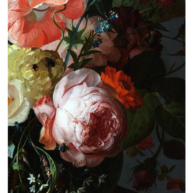 Not Yet Made - Made To Order Rachel Ruysch Still Life With Flowers 1716 Unframed Giclée Print For Sale - Image 5 of 6