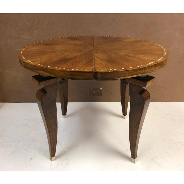 1930s French Art Deco Adjustable Table For Sale - Image 10 of 11