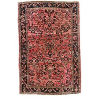 """RugsinDallas Antique Persian Sarouk Rug - 3'4"""" X 5'1"""""""