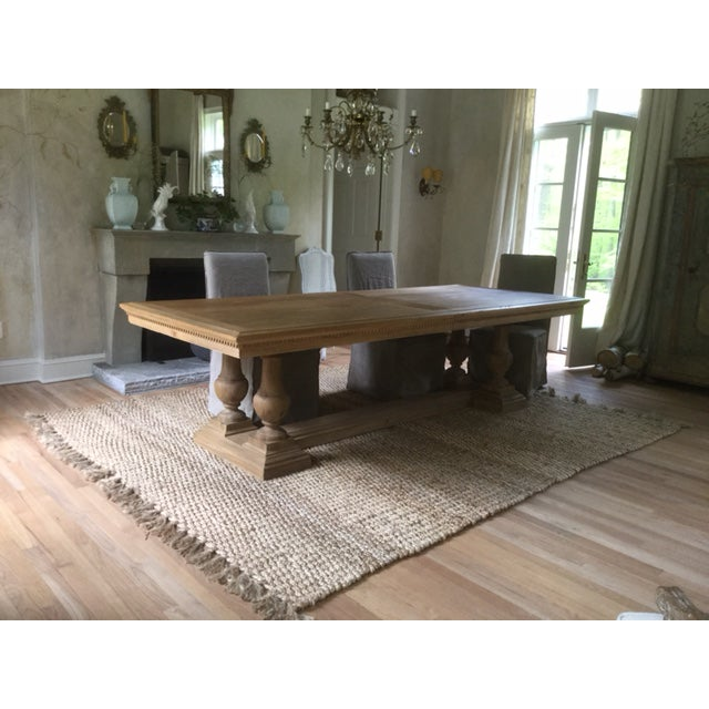 Restoration Hardware St James Rectangular Extension Dining Table Chairish