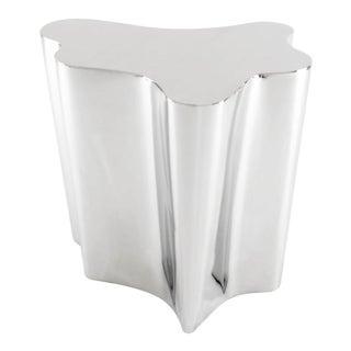 Silver Side Table   Eichholtz Sceptre For Sale