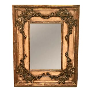 Large Italian Rococo Style Wall Mirror