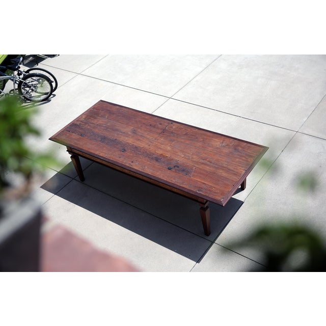 Brown 19th C. Portuguese Rosewood Dining Table For Sale - Image 8 of 11