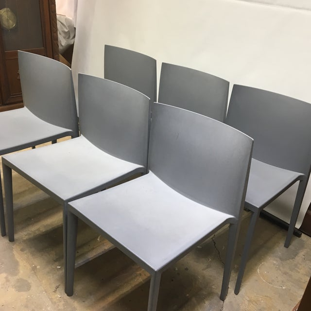 Modernistic Cazzaniga Stackable Chairs - Set of 6 For Sale - Image 10 of 13