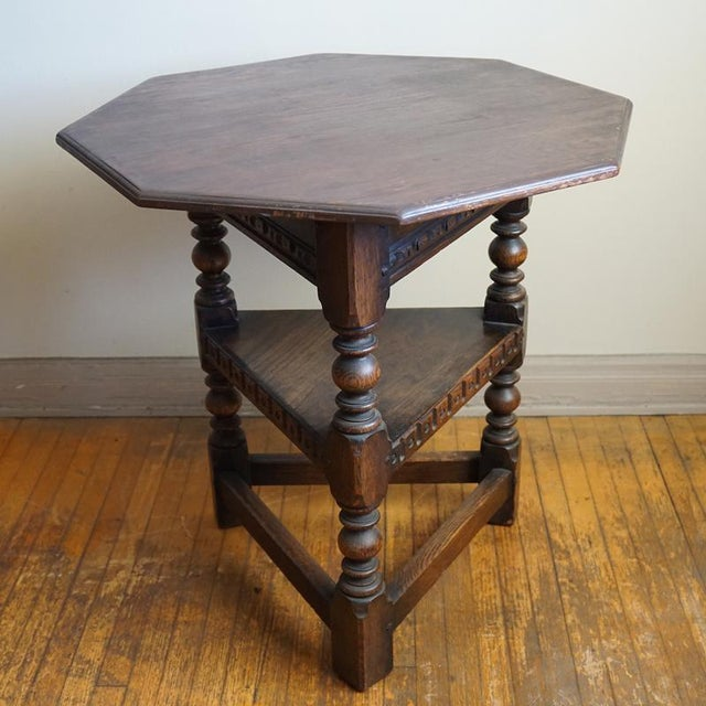 19th Century Jacobean Occasional Table - Image 4 of 7