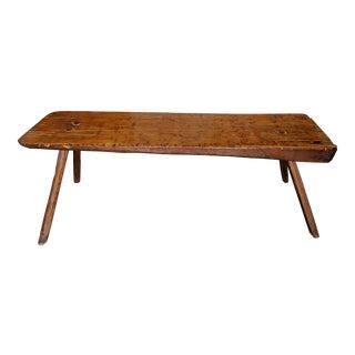 Large Vintage Rustic Primitive Style Table