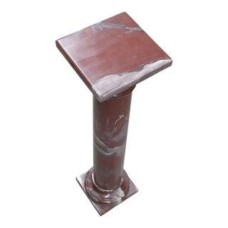 Doric Marble Column Pedestal