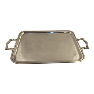 Pairpoint Quadruple Plate Serving Tray