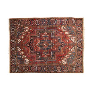 "Vintage Heriz Carpet - 6'7"" X 8'9"" For Sale"