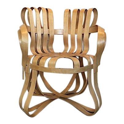 Frank Gehry for Knoll Modern Cross Check Chair For Sale