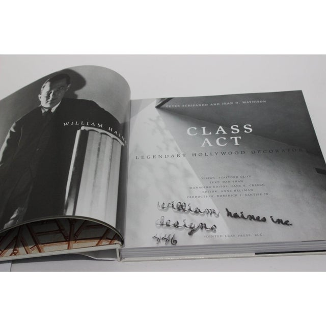 "2005 Hollywood Legendary Decorator ""Class Act William Haines"" Rare Book For Sale - Image 9 of 12"