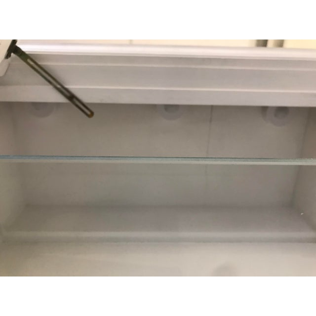 Milling Road White China Cabinet For Sale - Image 9 of 13
