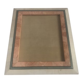 Maitland-Smith Style Tessellated Stone Frame For Sale