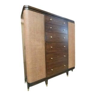 Thomasville Furniture Ellen Degeneres Grancell Walnut Bedroom Master Chest For Sale