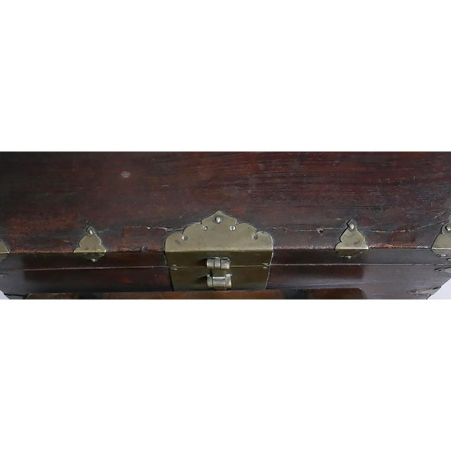 Antique Asian Money Box For Sale - Image 4 of 5