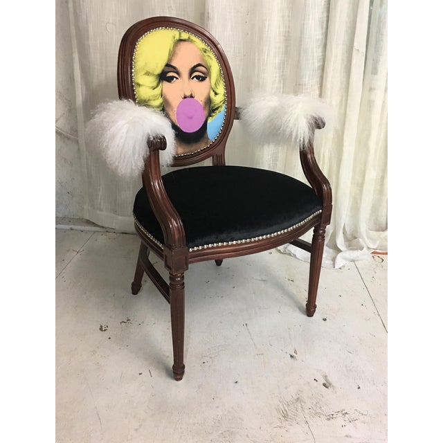 Marilyn Monroe Chair For Sale - Image 5 of 6