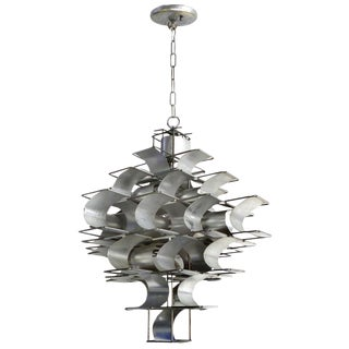 1970s Max Sauze Cassiope Pendant Light Fixture For Sale