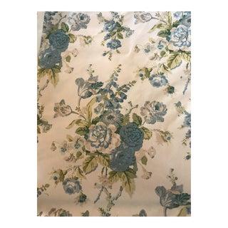 Lee Jofa Blithfield Company Cotton Grenville Glazed Chintz - 5 1/8 Yards For Sale