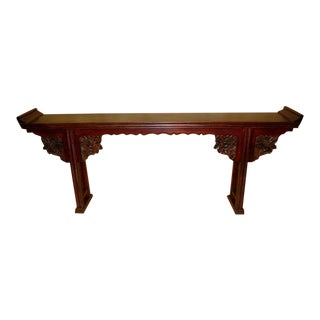 Asian Antique Carved Altar Table