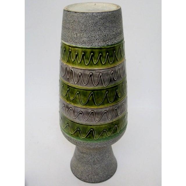 West German Ceramic Floor Vase For Sale In Los Angeles - Image 6 of 8