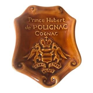 St. Clement for Prince Hubert De Polignac Cognac Dish For Sale