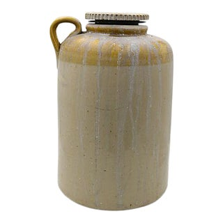 Antique 2 Gallon Pickle Brining Crock For Sale