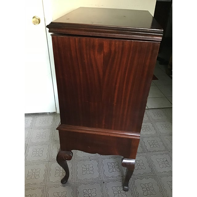 Early 20th Century Antique Wooden Stereo Cabinet For Sale In Houston - Image 6 of 13