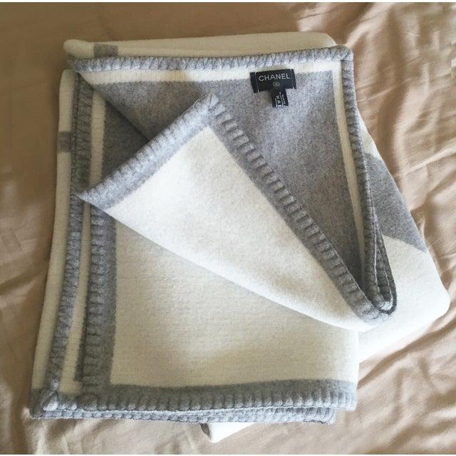 Chanel Wool Blanket - Image 5 of 6