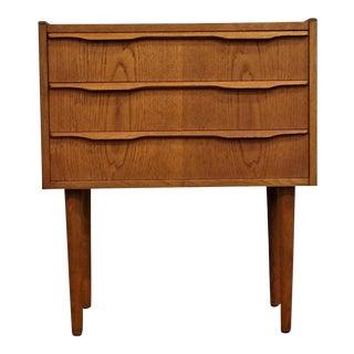 "Original Danish Mid Century Modern Teak Side Dresser - ""Børkop"" For Sale"