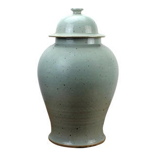 Sarreid LTD Lidded Baluster Temple Jar For Sale