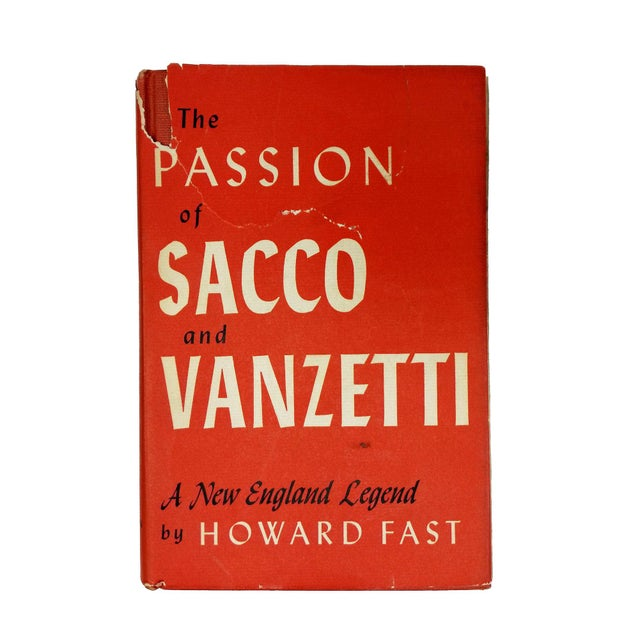 "1950s 1953 ""The Passion of Sacco and Vanzetti"" Collectible Book For Sale - Image 5 of 5"