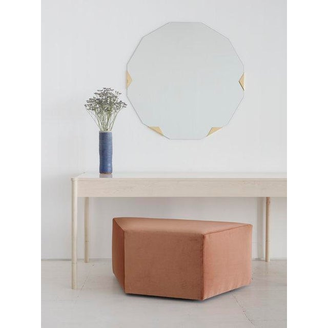 """By Egg Collective Starting Price: $9,800 for the 60"""" length Specifications: 60″ l x 30″ d x 30″ h - w/ 4 legs 120″l x 30″..."""