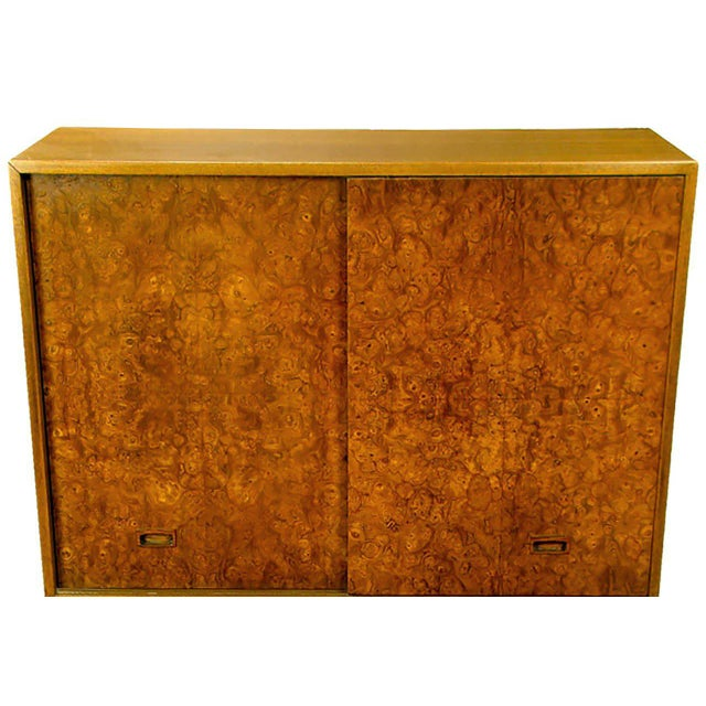 Harvey Probber Olive Ash Burl, Rosewood and Mahogany Gentleman's Chest For Sale In Chicago - Image 6 of 8