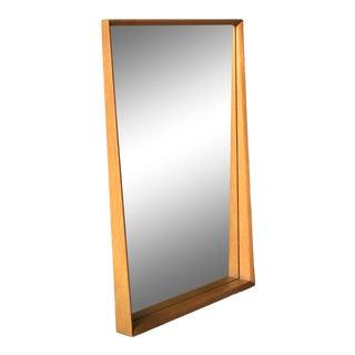 Pedersen & Hansen Danish Style Teak Mirror For Sale