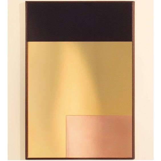 Minimalism Rectangular Constructivist Mirror by Nina Cho For Sale - Image 3 of 3