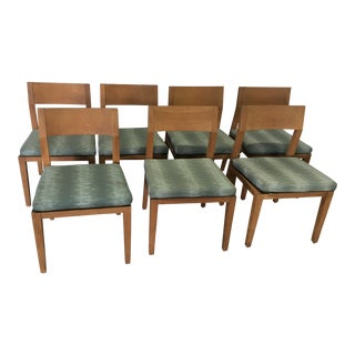 """Holly Hunt """"Great Outdoors"""" Teak Chairs - Set of 7 For Sale"""