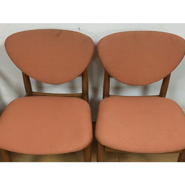 Brown Finn Juhl Style Dining Chairs - Set of 6 For Sale - Image 8 of 11