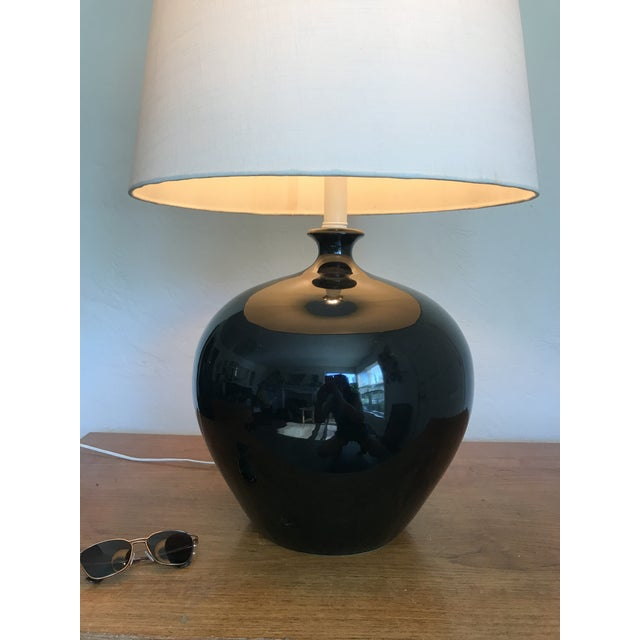 1970s Monumental Mid Century Lamp For Sale - Image 5 of 11