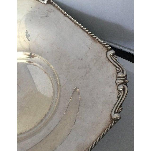 Vintage European Sterling Silver Centerpiece - Image 3 of 5