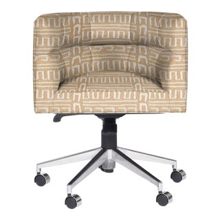 Casa Cosima Perry Desk Chair, Ester Linen For Sale