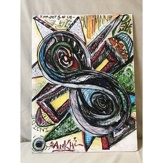 """Inside Mind"" Original Painting - Image 2 of 3"